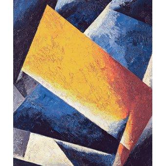 cuadros abstractos - Cuadro -Architectonic composition- - Popova, Lyubov Sergevna