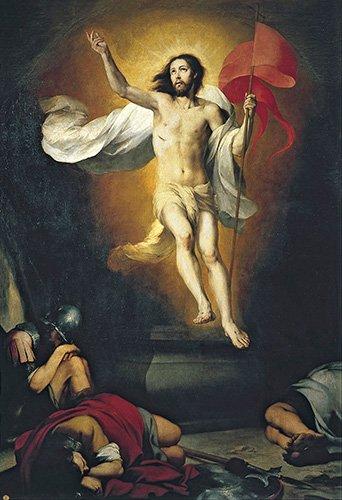 cuadros-religiosos - Cuadro -Resurrección del Señor- - Murillo, Bartolome Esteban