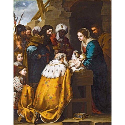 Cuadro -Adoracion de los Reyes Magos-