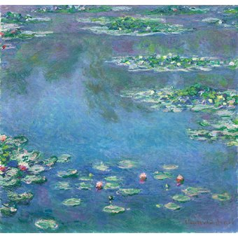 Hall - Cuadro -Les Nymphéas- - Monet, Claude