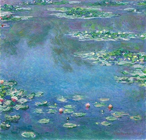 cuadros-para-comedor - Cuadro -Les Nymphéas- - Monet, Claude