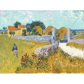 - Cuadro -Ferme de Provence, 1888- - Van Gogh, Vincent