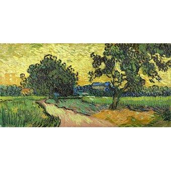 Cuadro -Paysage au crépuscule, 1890-