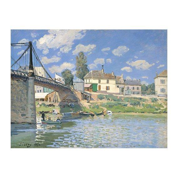 Cuadro -Pont à Villeneuve-la-Garenne-