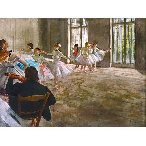 Cuadro -Rehearsal In The Studio, 1878-