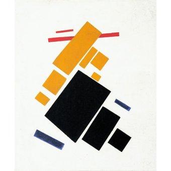 - Cuadro - Vuelo de avión, 1915 - - Malevich, Kazimir S.