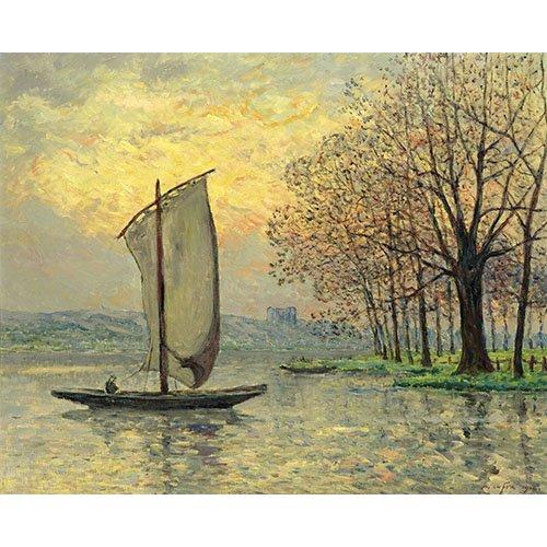 Cuadro - Les bords de la Loire -