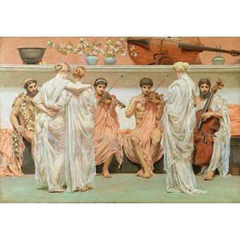 - Cuadro -Un quatuor (Un Cuarteto)- - Moore, Albert Joseph