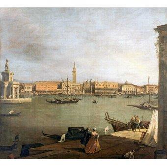 - Cuadro -Dársena de San Marcos desde la Giudeca- - Canaletto, Giovanni A. Canal