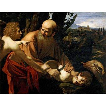 - Cuadro -Sacrificio De Isaac- - Caravaggio, Michelangelo M.