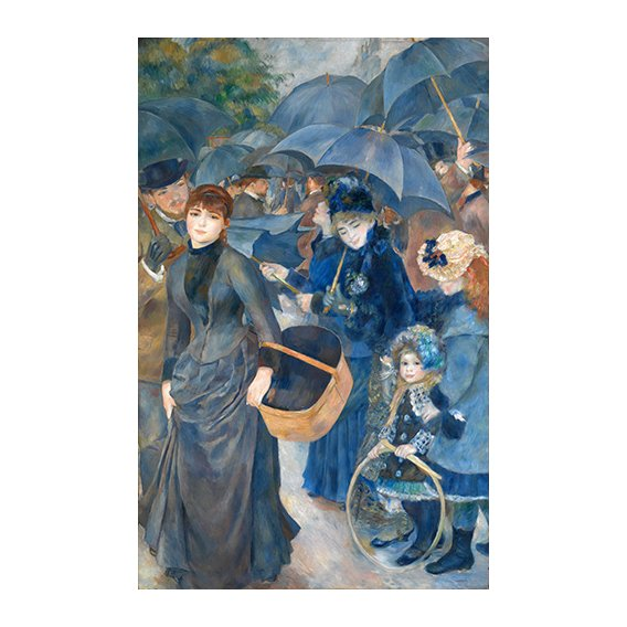 Cuadro -Los paraguas, (1881-86)-