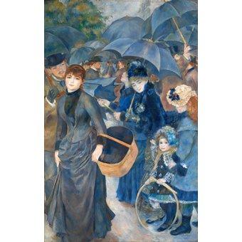 - Cuadro -Los paraguas, (1881-86)- - Renoir, Pierre Auguste