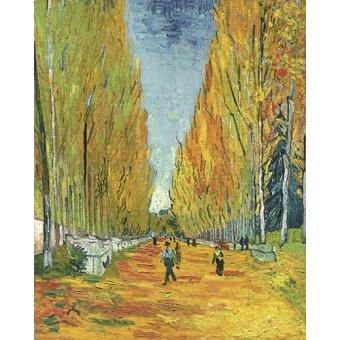 - Cuadro -Explanada de Alycamps- - Van Gogh, Vincent