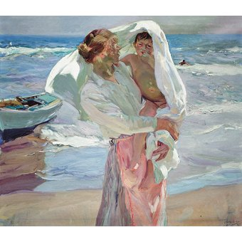 - Cuadro -Just Out of the Sea, 1915- - Sorolla, Joaquin
