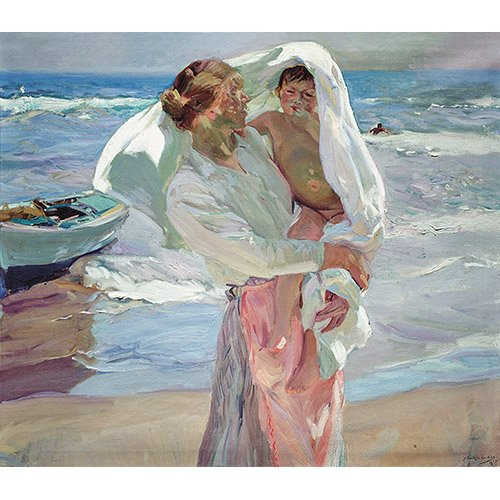 Cuadro -Just Out of the Sea, 1915-
