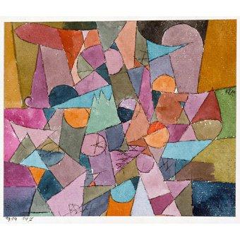 Dormitorio - Cuadro - Untitled, 1914 - - Klee, Paul