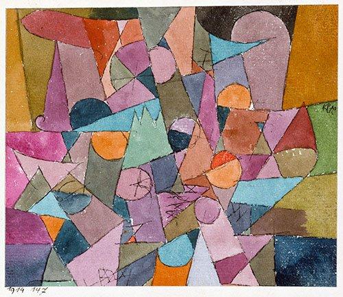 cuadros-abstractos - Cuadro - Untitled, 1914 - - Klee, Paul