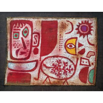Dormitorio - Cuadro - Rausch - - Klee, Paul
