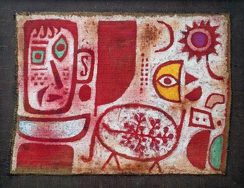 cuadros-abstractos - Cuadro - Rausch - - Klee, Paul