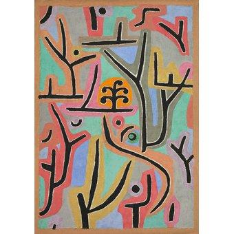 Dormitorio - Cuadro - Park bei Lu,1938 - - Klee, Paul