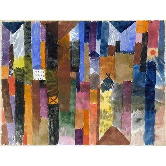 Dormitorio - Cuadro - vor der stadt - - Klee, Paul