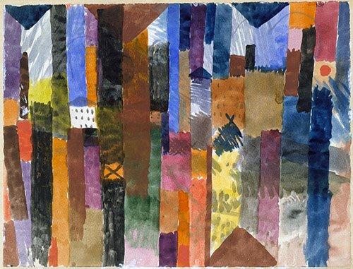 cuadros-abstractos - Cuadro - vor der stadt - - Klee, Paul
