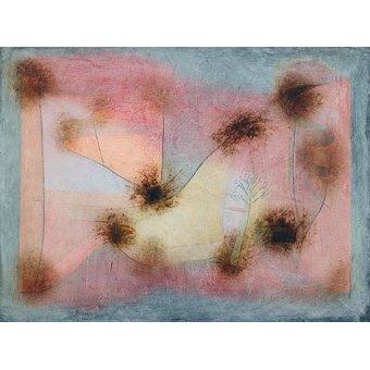 Dormitorio - Cuadro - winterharte Pflanzen_(Hardy_Plants) - - Klee, Paul