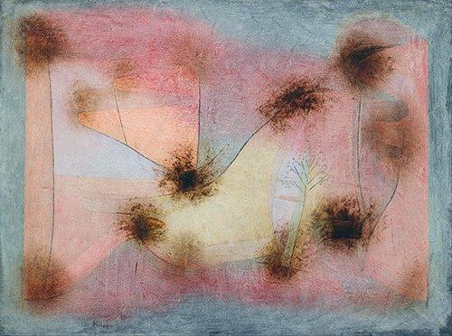 cuadros-abstractos - Cuadro - winterharte Pflanzen_(Hardy_Plants) - - Klee, Paul