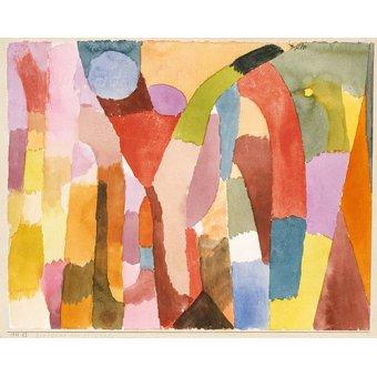 Dormitorio - Cuadro - Bewegung der Gewölbe - - Klee, Paul