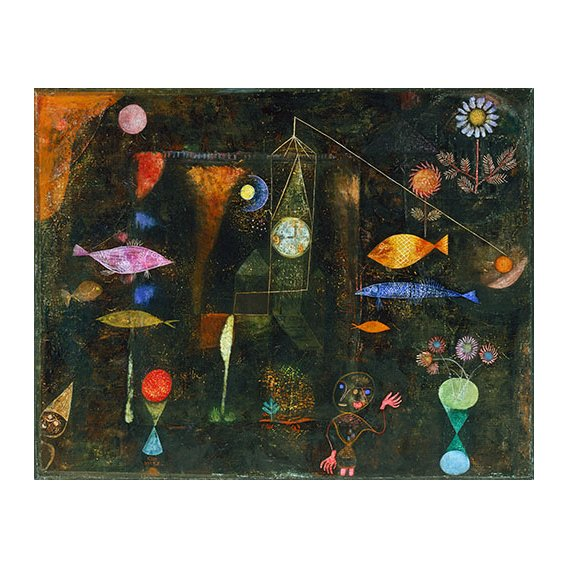 Cuadro - Fisch Magie, 1925 -