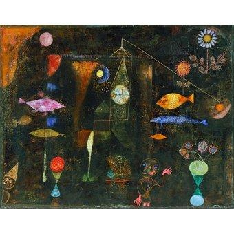 Dormitorio - Cuadro - Fisch Magie, 1925 - - Klee, Paul