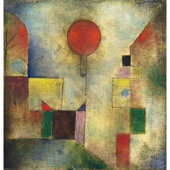 Dormitorio - Cuadro - Roter Ballon, 1922 - - Klee, Paul