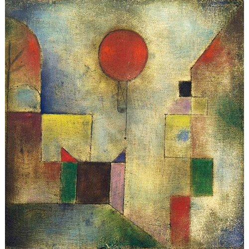 Cuadro - Roter Ballon, 1922 -