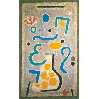Dormitorio - Cuadro - Die Vase - - Klee, Paul