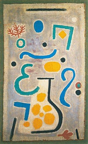 cuadros-abstractos - Cuadro - Die Vase - - Klee, Paul