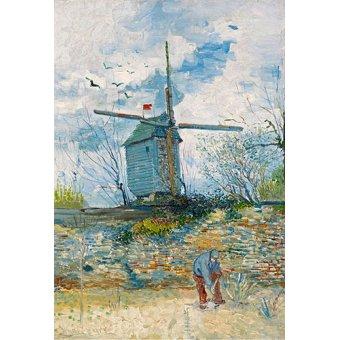 Cuadro - Le Moulin de la Galette, 1886 -