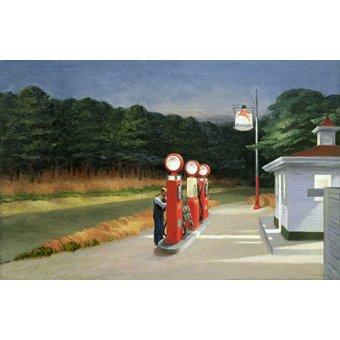 - Cuadro -Gasolina, 1940- - Hopper, Edward