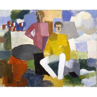 cuadros abstractos - Cuadro -El 14 de julio- - Fresnaye, Roger de la