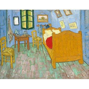 Cuadro -La habitación de Van Gogh en Arles, (1889)-