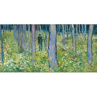 Dormitorio - Cuadro -Dos figuras en el bosque- - Van Gogh, Vincent