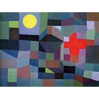 CUADROS PARA SALON - Cuadro - Feuer, Vollmond, 1933 - - Klee, Paul