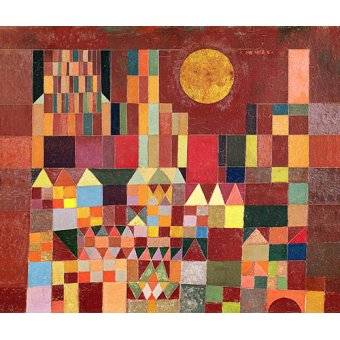 Dormitorio - Cuadro - Schloss und Sonne, 1928 - - Klee, Paul