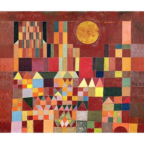 Cuadro - Schloss und Sonne, 1928 -