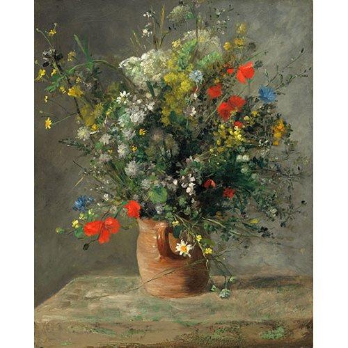 Cuadro - Fleurs dans un vase, 1866 -
