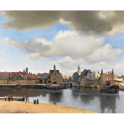 Cuadro -Vista de Delft-