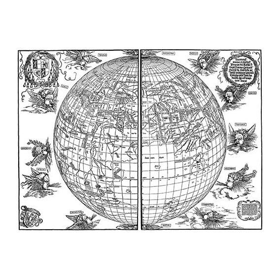Cuadro - Durer Woodcut map