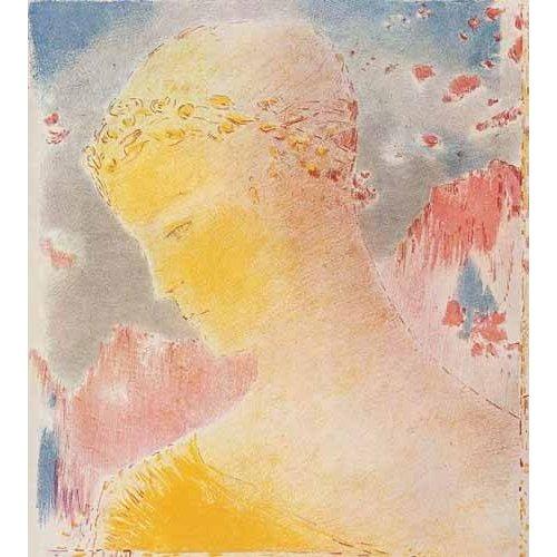 cuadros de retrato - Cuadro -Mujer dorada-