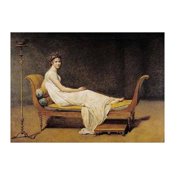 cuadros de retrato - Cuadro -Mme. Recamier-