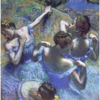 - Cuadro -Blue Dancers- - Degas, Edgar