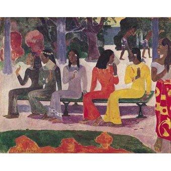 - Cuadro -Ta Matete- - Gauguin, Paul